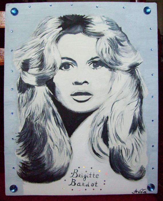Brigitte Bardot por Anjuta
